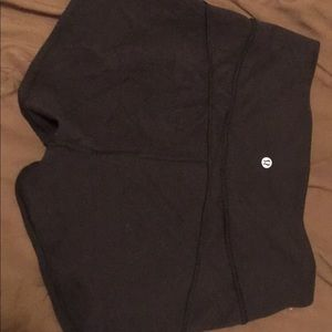 Lululemon in the movement shorts